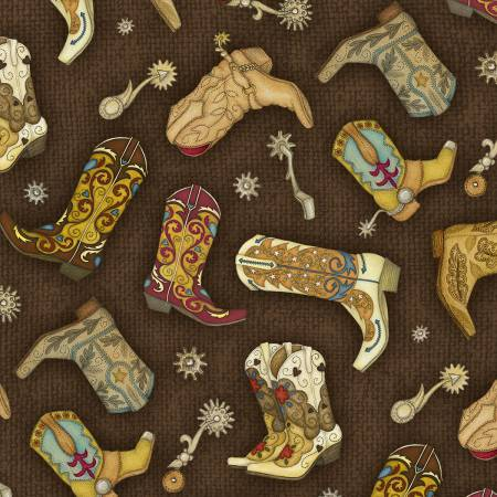 Rodeo Round up-Boots-Brown