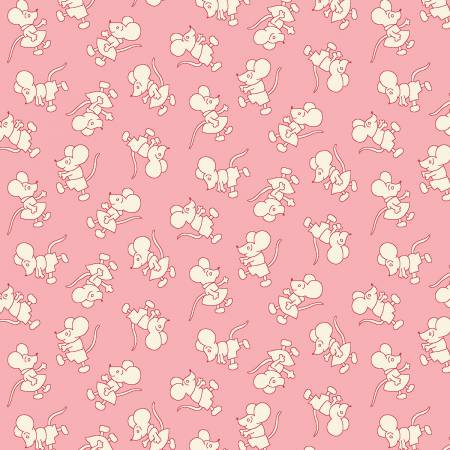Pink Mouse Toss 1930's Reproduction