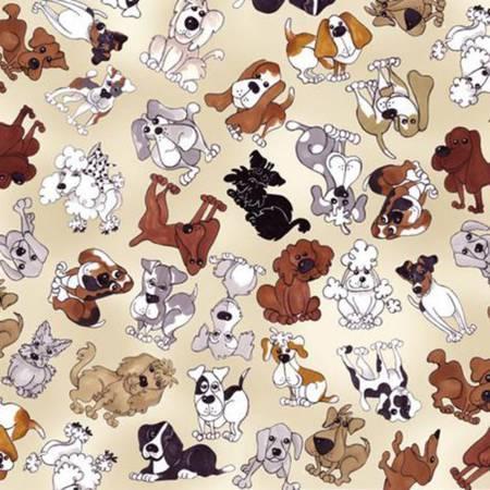 Bone Tossed Doggies