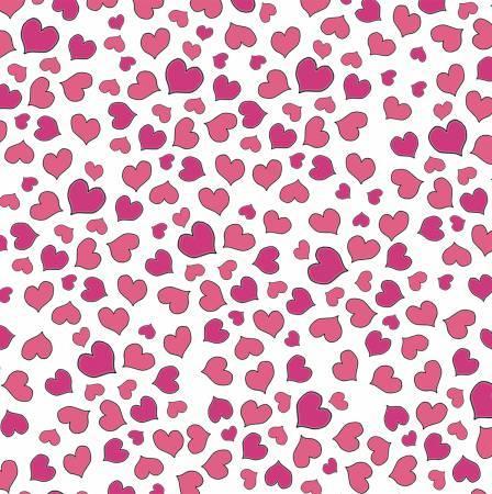 White Mini Hearts