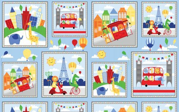 Big City Friends Craft Panel