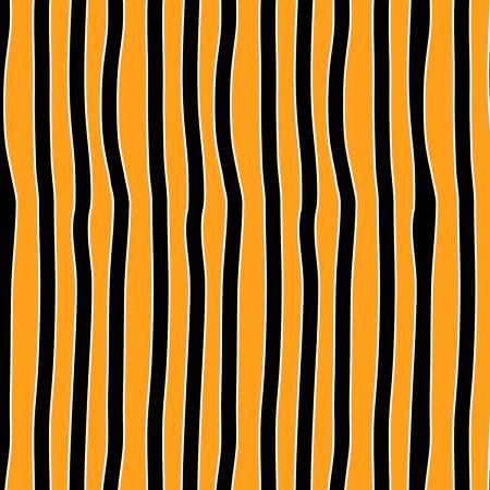 Orange/Black Stripe Glows in the Dark