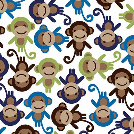 Monkey Cuddle Midnight  DR87289