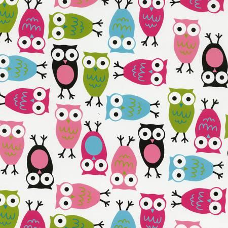 Fuchsia Night Owls Cuddle 10-12yd pcs
