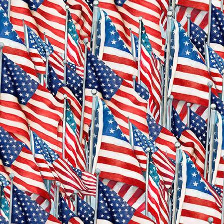 American Flag Toss