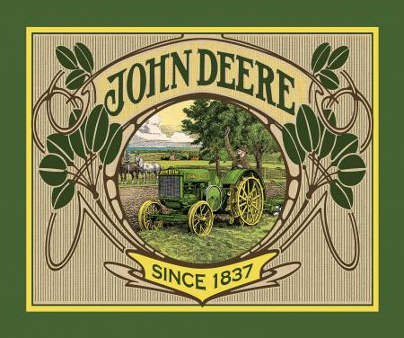 Springs Creative John Deere 36in Panel