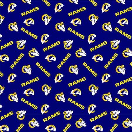 NFL LA Rams 70401-D Cotton 58 Wide
