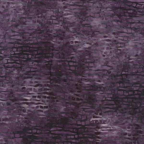 Purple Tree Bark Batik