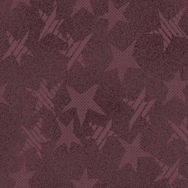 Buggy Barn Basics Mauve/Burgandy Stars