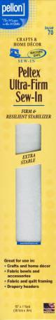 70PKG Peltex Sew-In Stabilizer Pellon 15in x 1yd