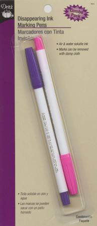 Disappearing Ink Marking Pen, Combo Pack, by Dritz