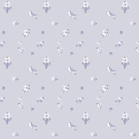 The Violetta- Dusty Lilac Abbeville -Floral #71180202
