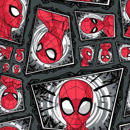 Marvel Spiderman Comic Swirl