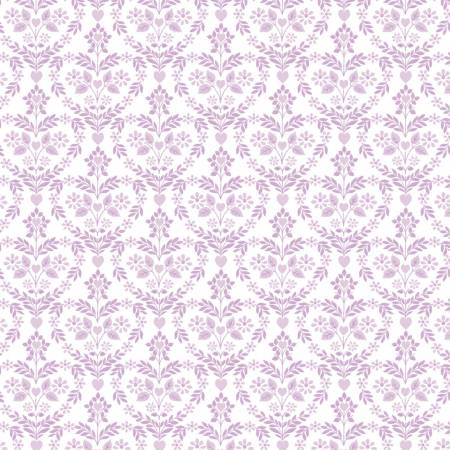 The Girls Collection Lilac Nordic Floral Hearts 71190103-2