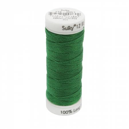 12wt Cotton Petites 50yd Jolly Green