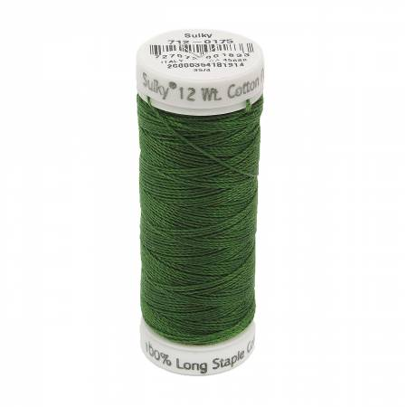 Sulky 12wt Cotton 712-0175 Palm Green