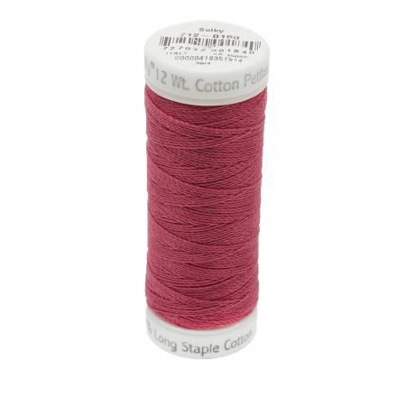 12wt Cotton Petites 50yd June Berry