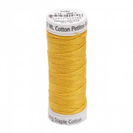 Cotton Thread 2-ply 12wt 50yds Butterfly Gold