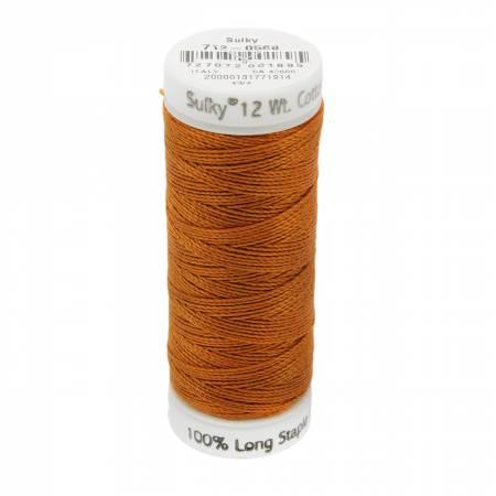 12wt Cotton Petites 50yd Cinnamon