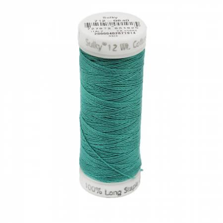12wt Cotton Petites 50yd Med Aqua