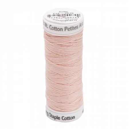 Cotton Thread 2-ply 12wt 50yds Medium Peach