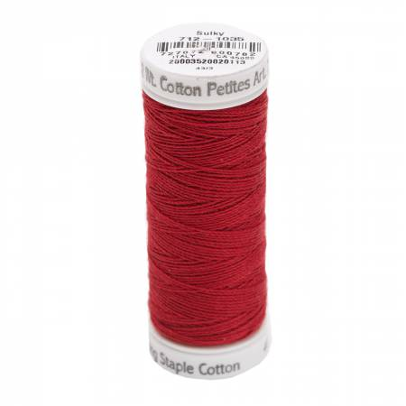 Cotton Thread 2-ply 12wt 50yds Burgundy