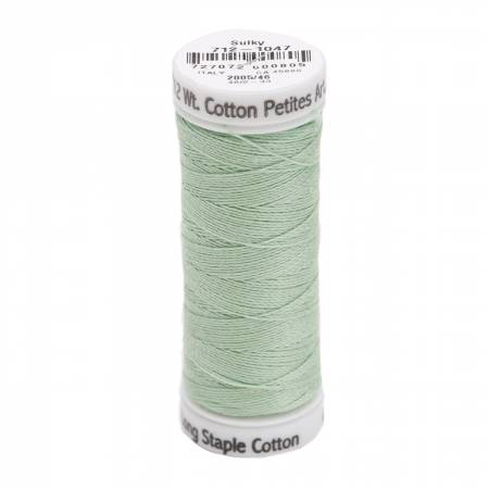 Cotton Thread 2-ply 12wt 50yds Mint Green