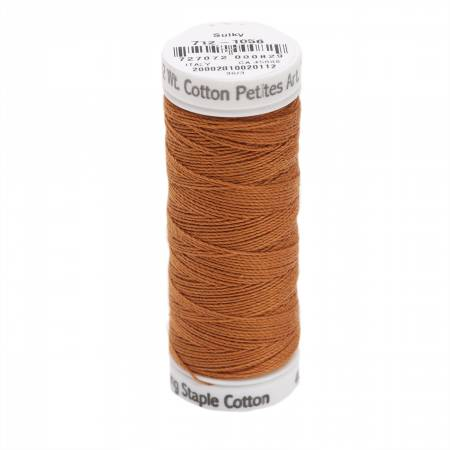 Cotton Thread 2-ply 12wt 50yds Medium Tawny Tan