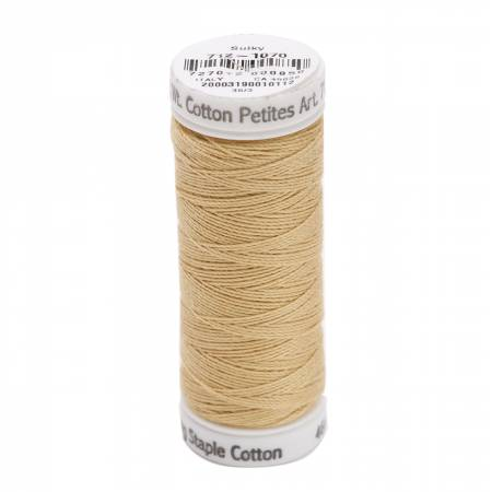 Cotton Thread 2-ply 12wt 50yds Gold