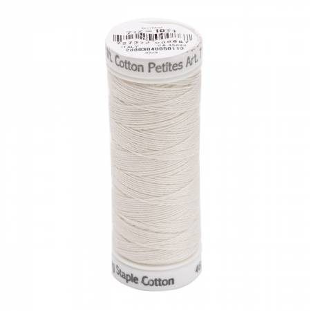 Cotton Thread 2-ply 12wt 50yds Off White