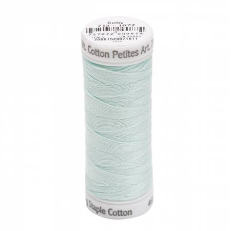 Cotton Petite Thread 2-ply 12wt 50yds Jade Tint