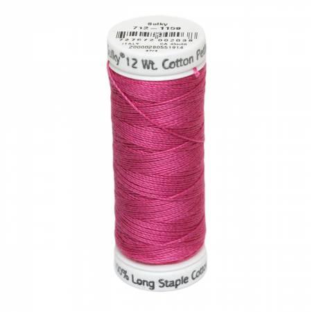 12wt Cotton Petites 50yd Hot Pink