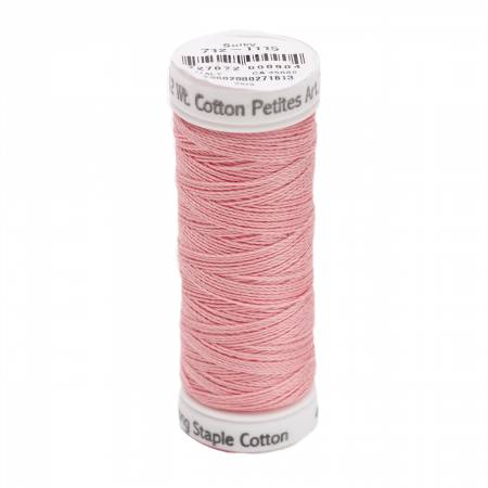Cotton Thread 2-ply 12wt 50yds Light Pink