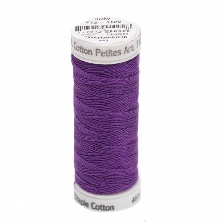 Cotton Thread 2-ply 12wt 50yds Purple