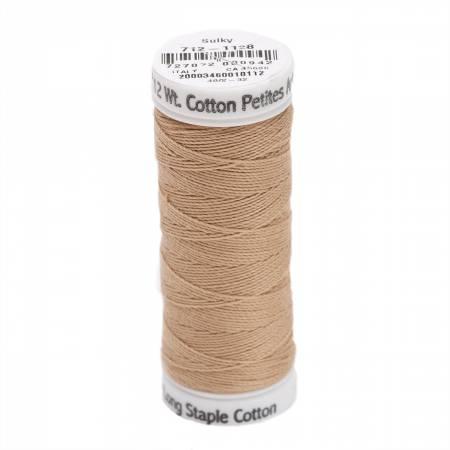 Cotton Thread 2-ply 12wt 50yds Dark Ecru