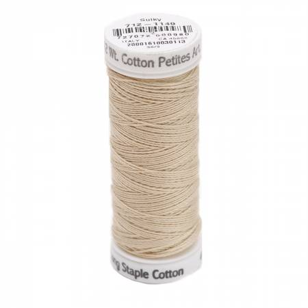 Cotton Thread 2-ply 12wt 50yds Deep Ecru