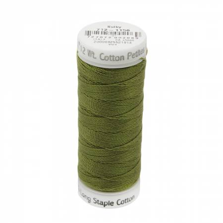 12wt Cotton Petites 50yd Light Army Green