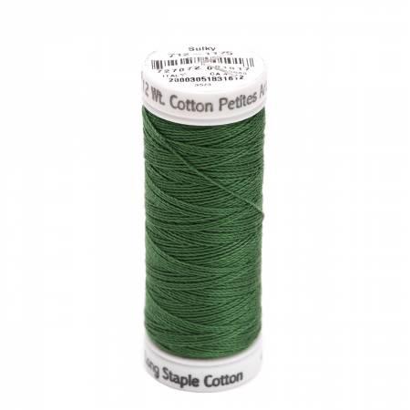 Cotton Thread 2-ply 12wt 50yds Dark Avacado