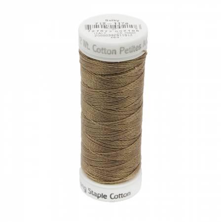 12wt Cotton Petites 50yd Dk Taupe
