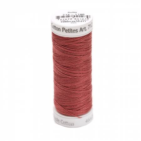Cotton Petite Thread 2-ply 12wt 50yds Medium Burgundy