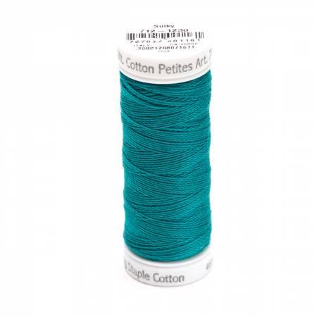 Cotton Thread 2-ply 12wt 50yds Dark Teal