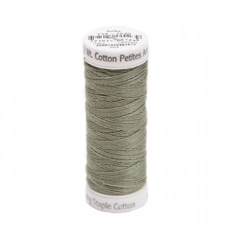 Cotton Thread 2-ply 12wt 50yds Dark Grey Khaki