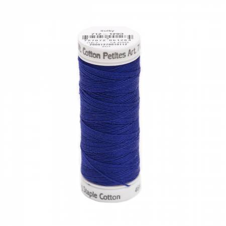 Sulky Cotton Petites Thread 1293 Deep Nassau Blue