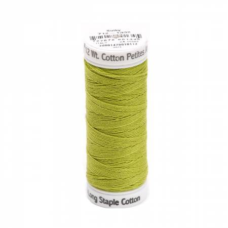 Cotton Thread 2-ply 12wt 50yds Deep Chartreuse