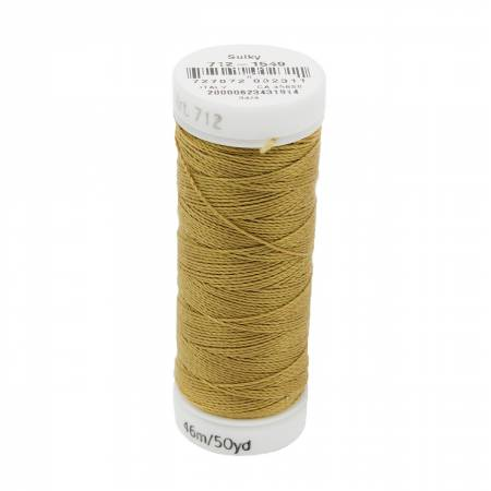 712-1549 Sulky 12wt Cotton Petites 50yd Flax