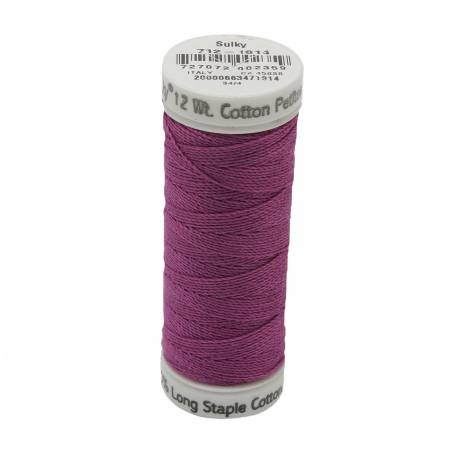 712-1814 Sulky 12wt Cotton Petites 50yd Orchid Kiss