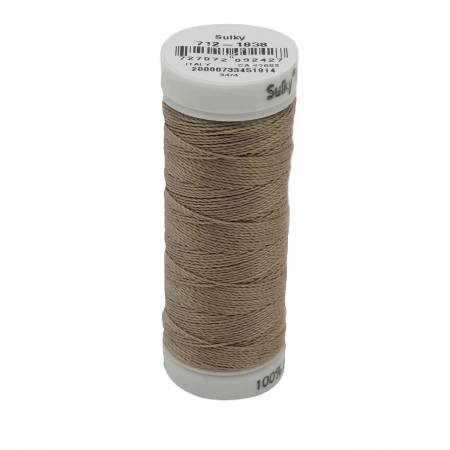 12wt Cotton Petites 50yd Cocoa Cream