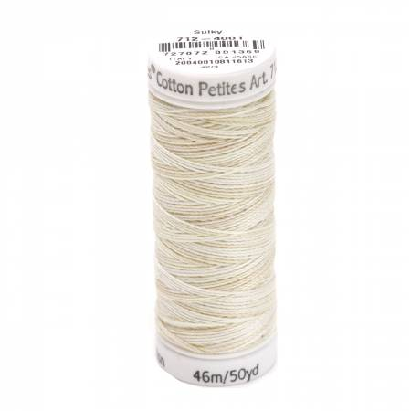 Blendables Cotton Thread 2-ply 12wt 50yds Parchment, 4001