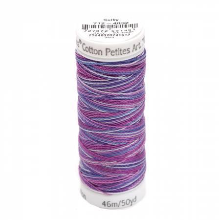 Cotton Petite Thread 2-ply 12wt 50yds Iris