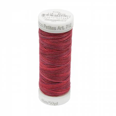 12wt Blendables Cotton Petites 50yd Redwork